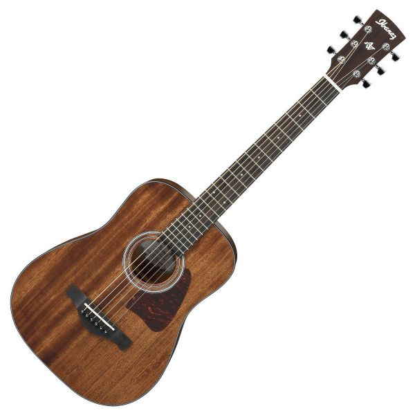 Ibanez AW54MINIGB-OPN Artwood 3/4 Acoustic Guitar, Solid Top - Mahogany